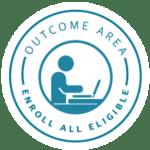 Enroll All Eligible badge